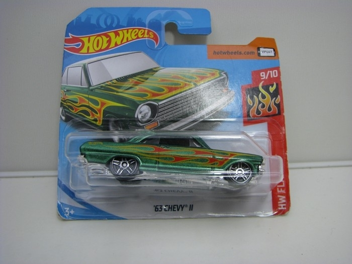 Chevy II 1963 Hot Wheels Flames-2017
